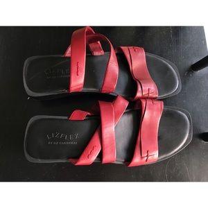 Liz Claiborne LizFlex Block Heel Sandal